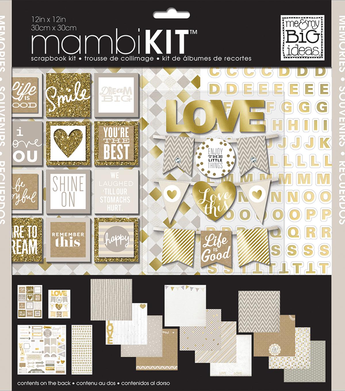 Me My Big Ideas Mambi 12x12 Scrapbook Kit Memories Joann