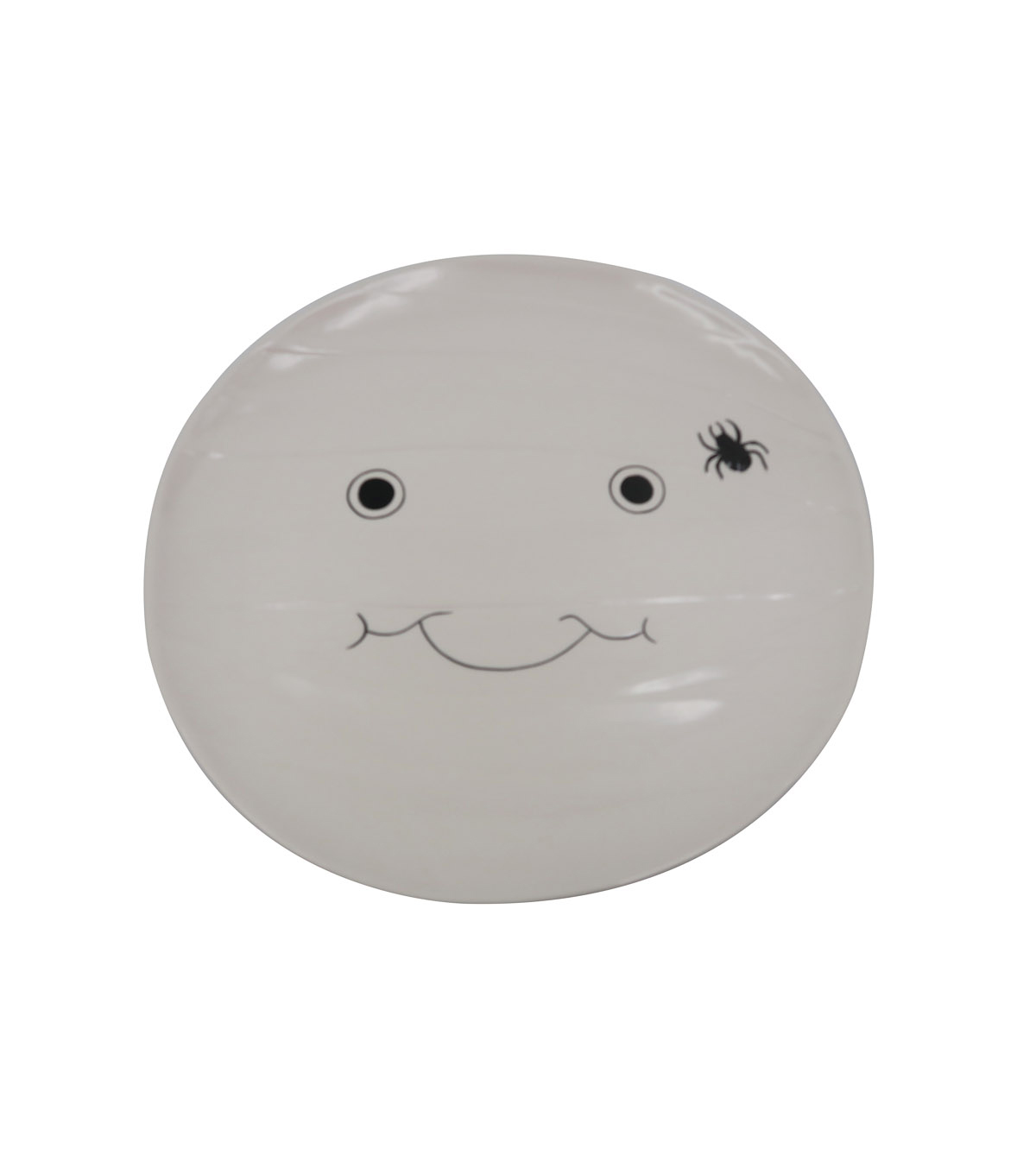 Maker\u0027s Halloween Ceramic Mummy Head Serving Plate