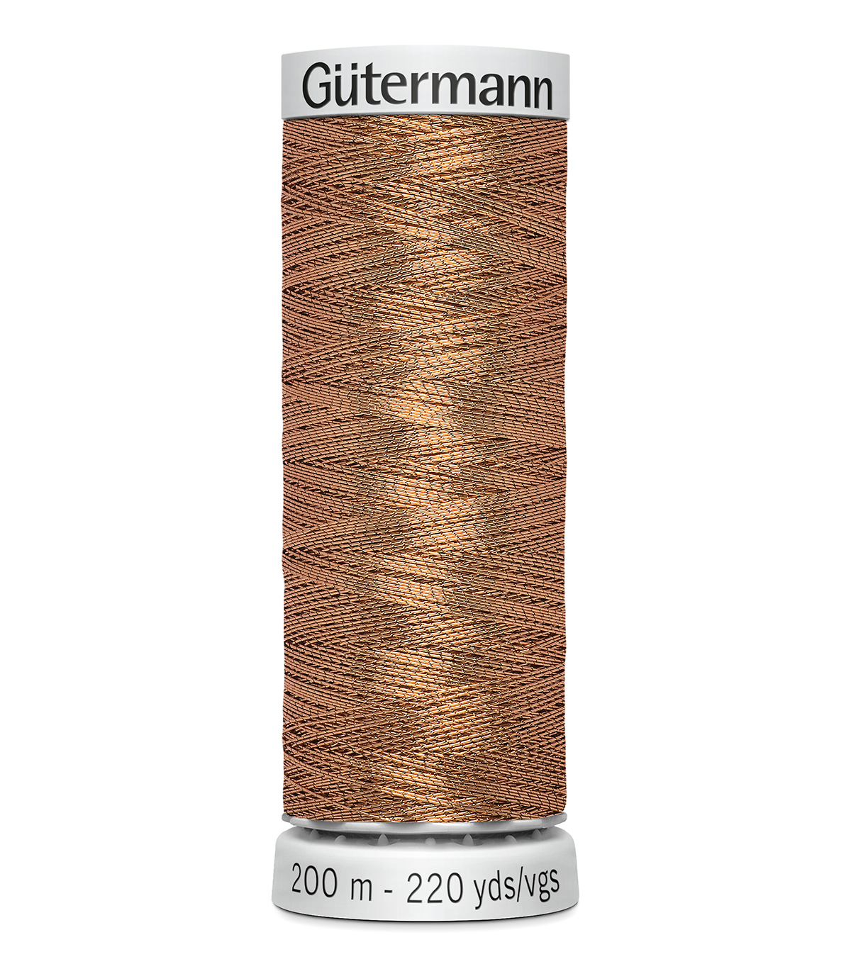 Gutermann 200M Dekor Thread, 200m Delor Metallic-bronze