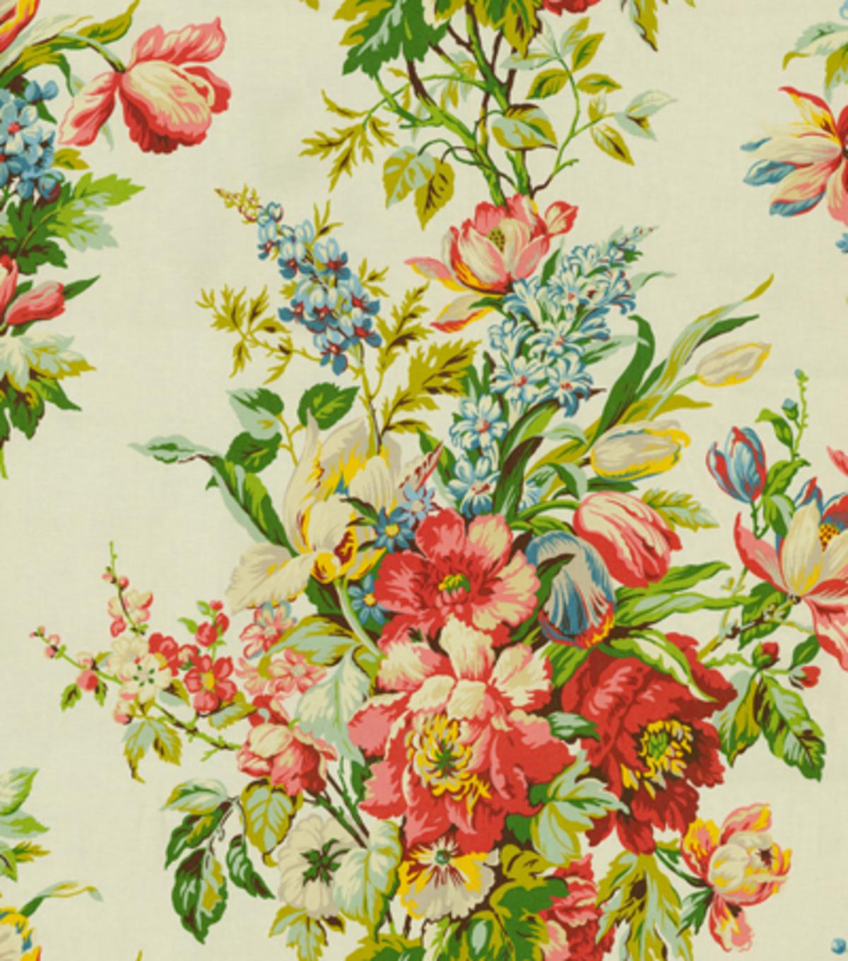 Home Decor Print Fabric Waverly Grand