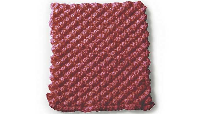 Knit Raspberry Stitch