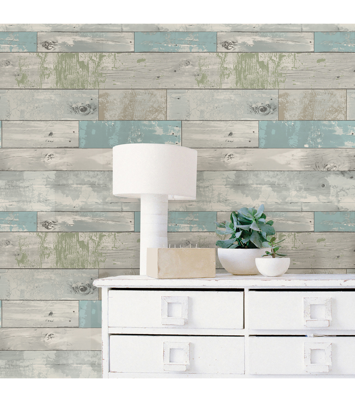 Wallpops Nuwallpaper L Stick Wallpaper Beachwood
