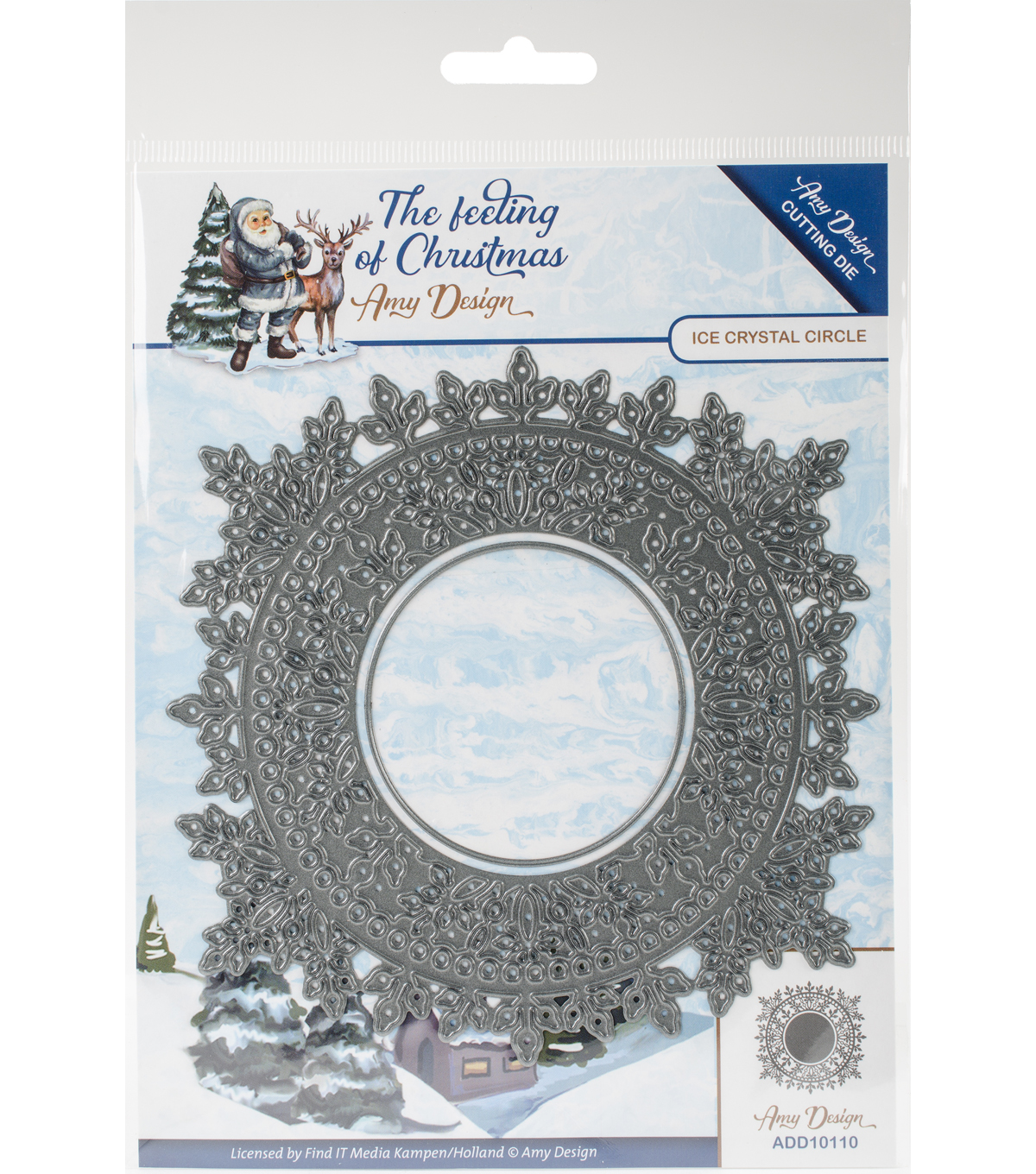 Find It Trading The Feeling of Christmas Die-Ice Crystal Circle