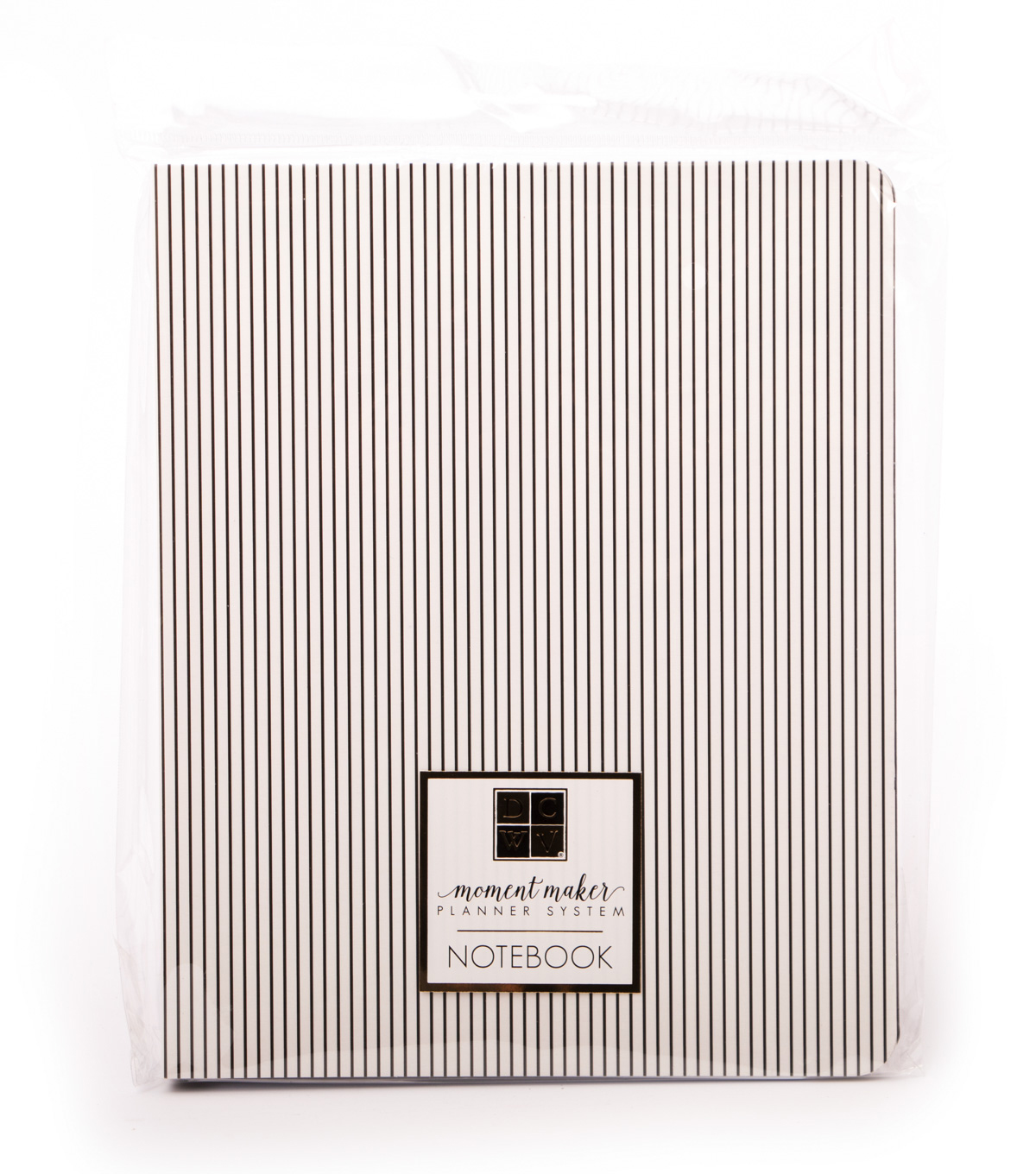 DCWV Moment Maker Notebook-Pinstripes