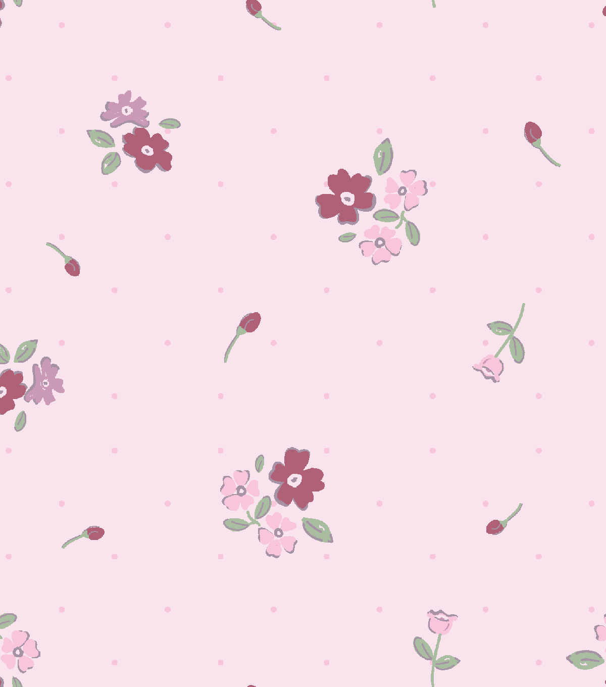 Nursery Flannel Fabric 42\u0027\u0027-Princess & Floral