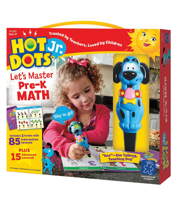 Hot Dots Jr Lets Master Pre K Math Joann