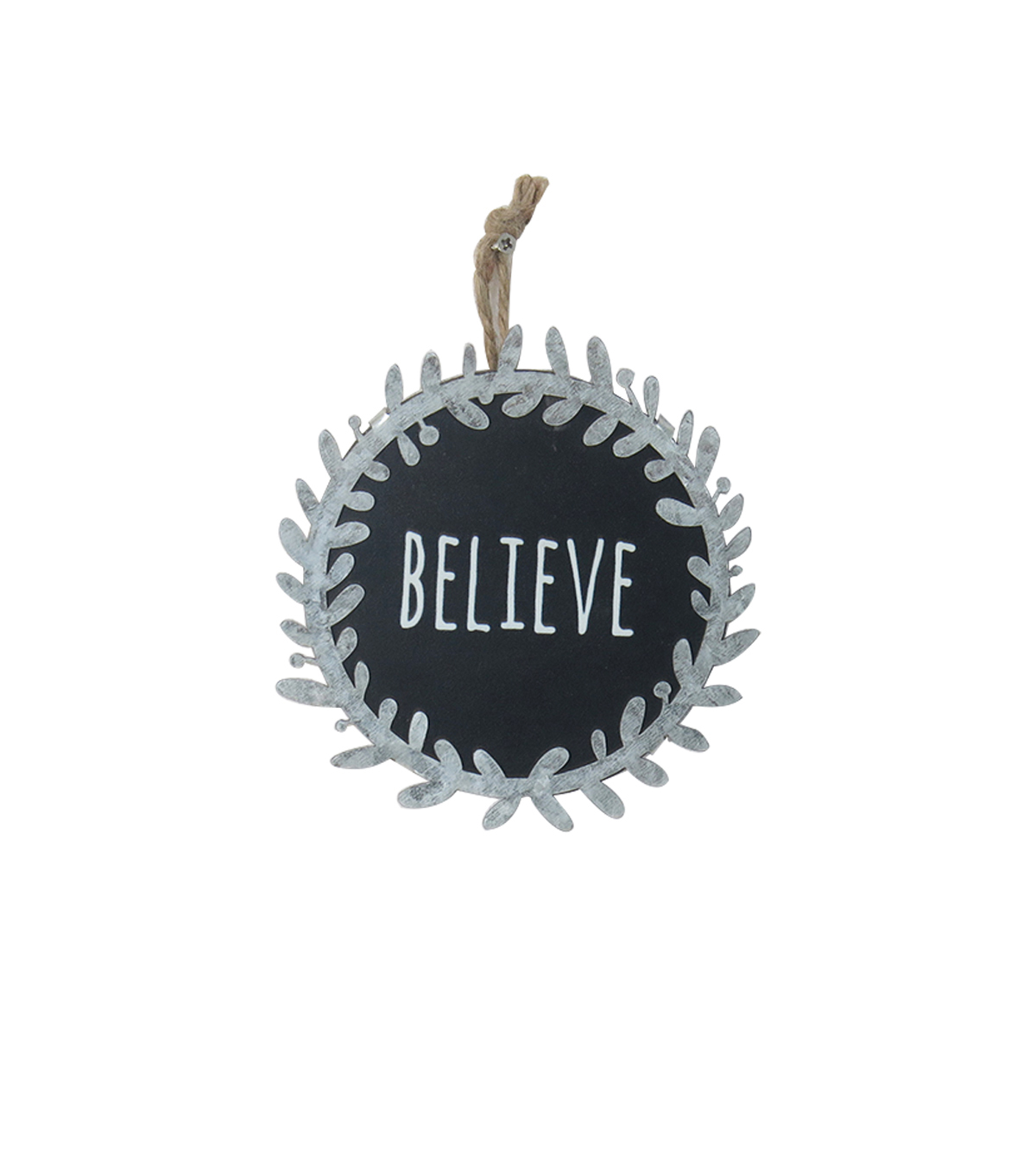 Maker\u0027s Holiday Christmas Farmhouse Chalkboard Wall Decor-Believe
