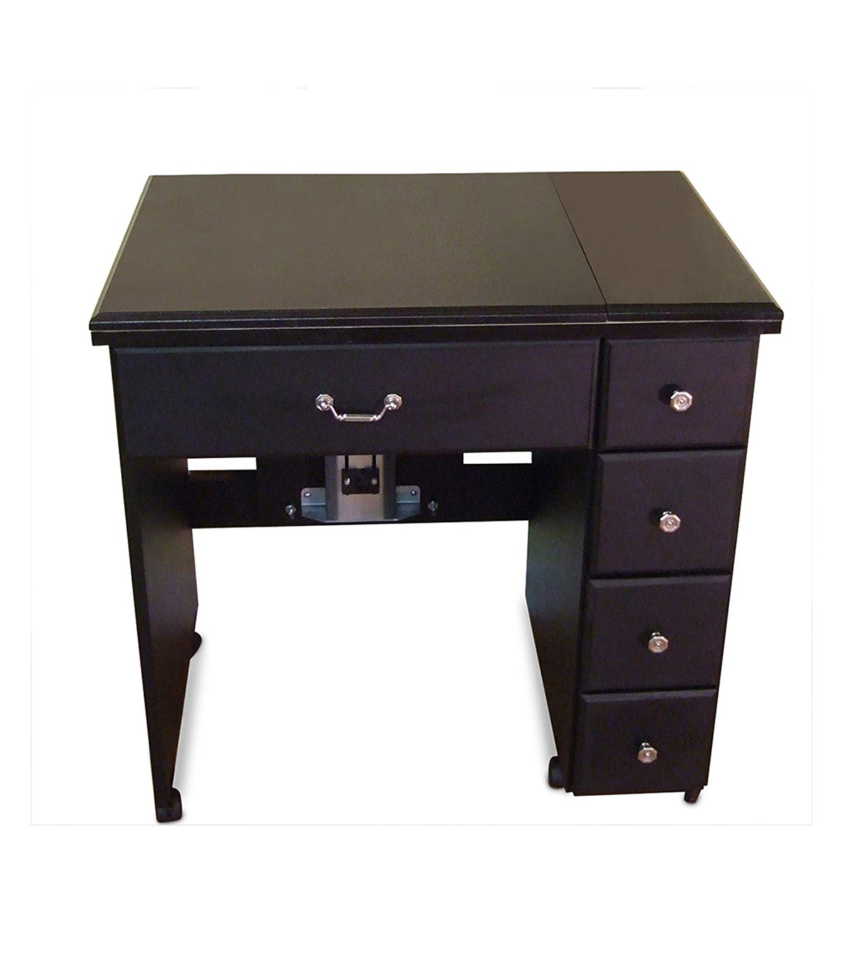Black Sewing Cabinet