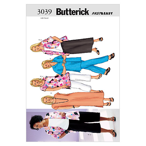Butterick Womens Casual-B3039