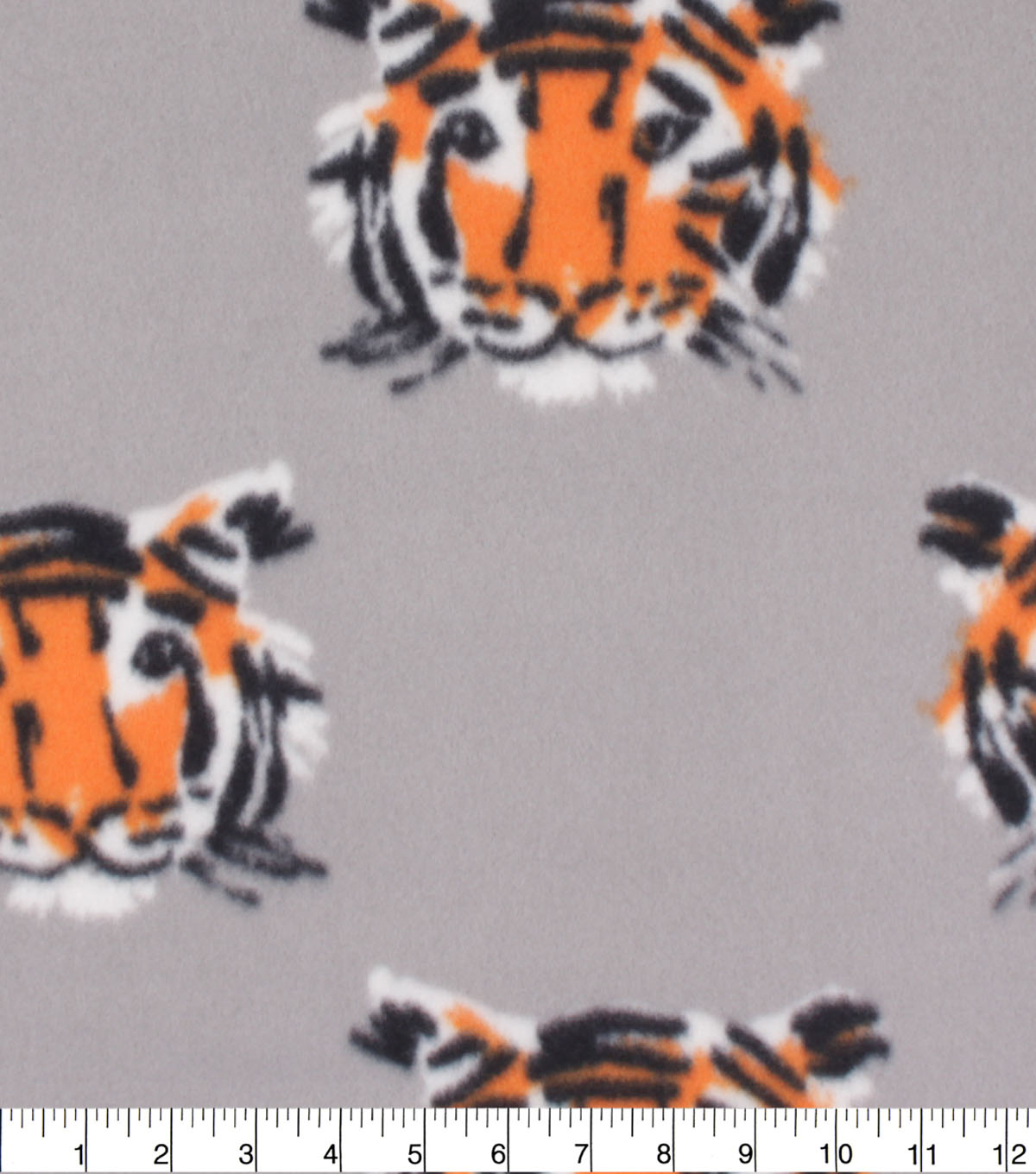 Blizzard Fleece Fabric-Tiger