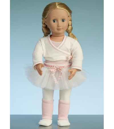 McCall\u0027s Pattern M7521 Athletic & Dance Outfits for 18\u0027\u0027 Doll