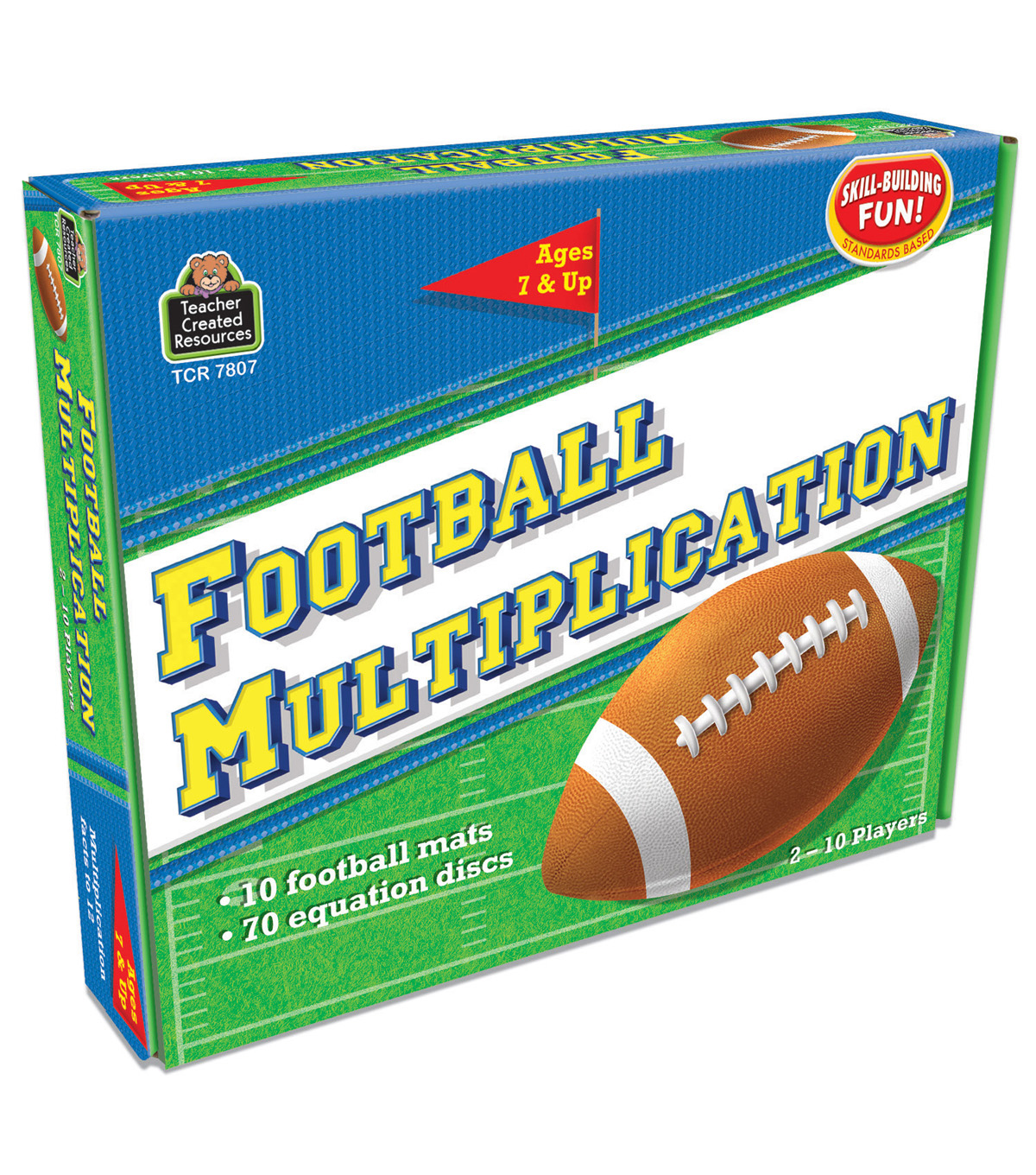 Teacher Created Resources Football Multiplication Game