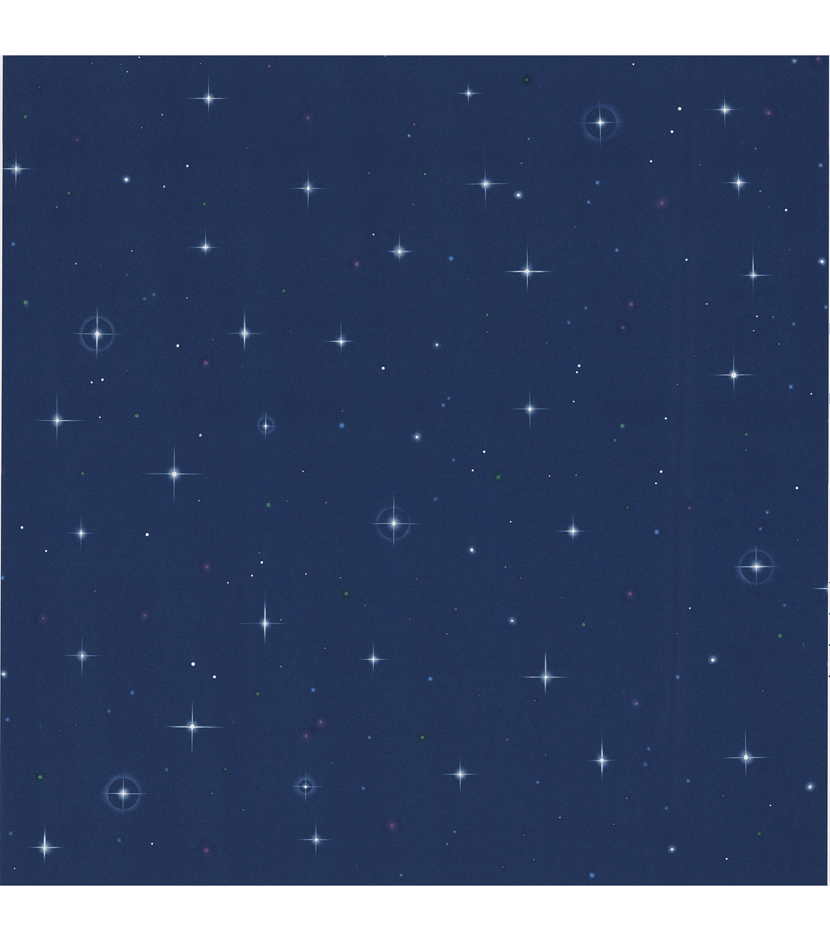 Starfleet Navy Blue Stars Wallpaper Sample