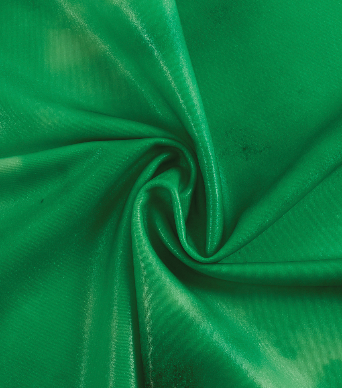 Yaya Han Cosplay Shibori Watercolor Foil Spandex Fabric 57\u0027\u0027-Emerald