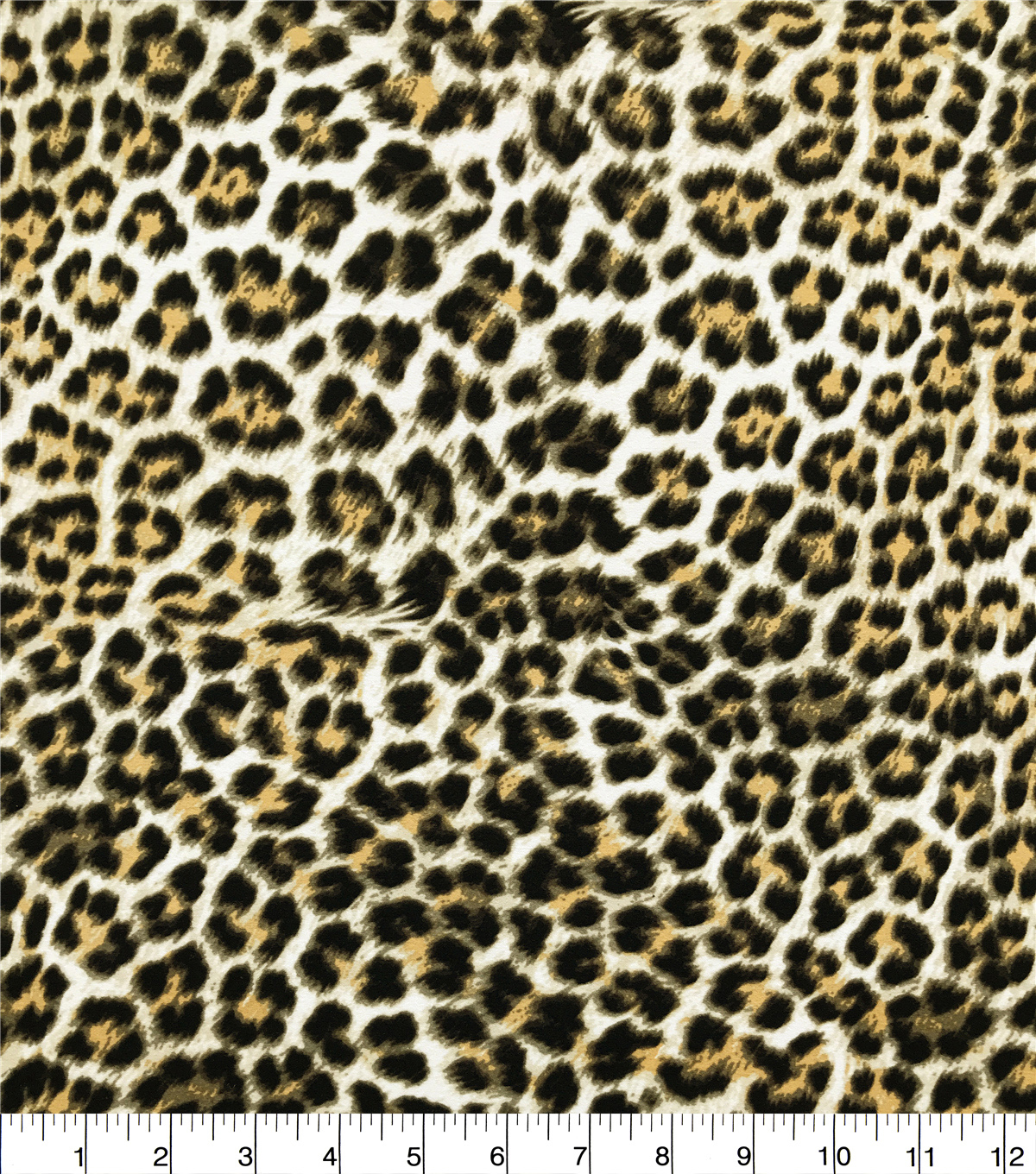Knit Prints Double Brushed Fabric-Cheetah Print