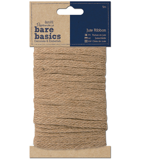 Papermania Bare Basics Jute Ribbon 5m-