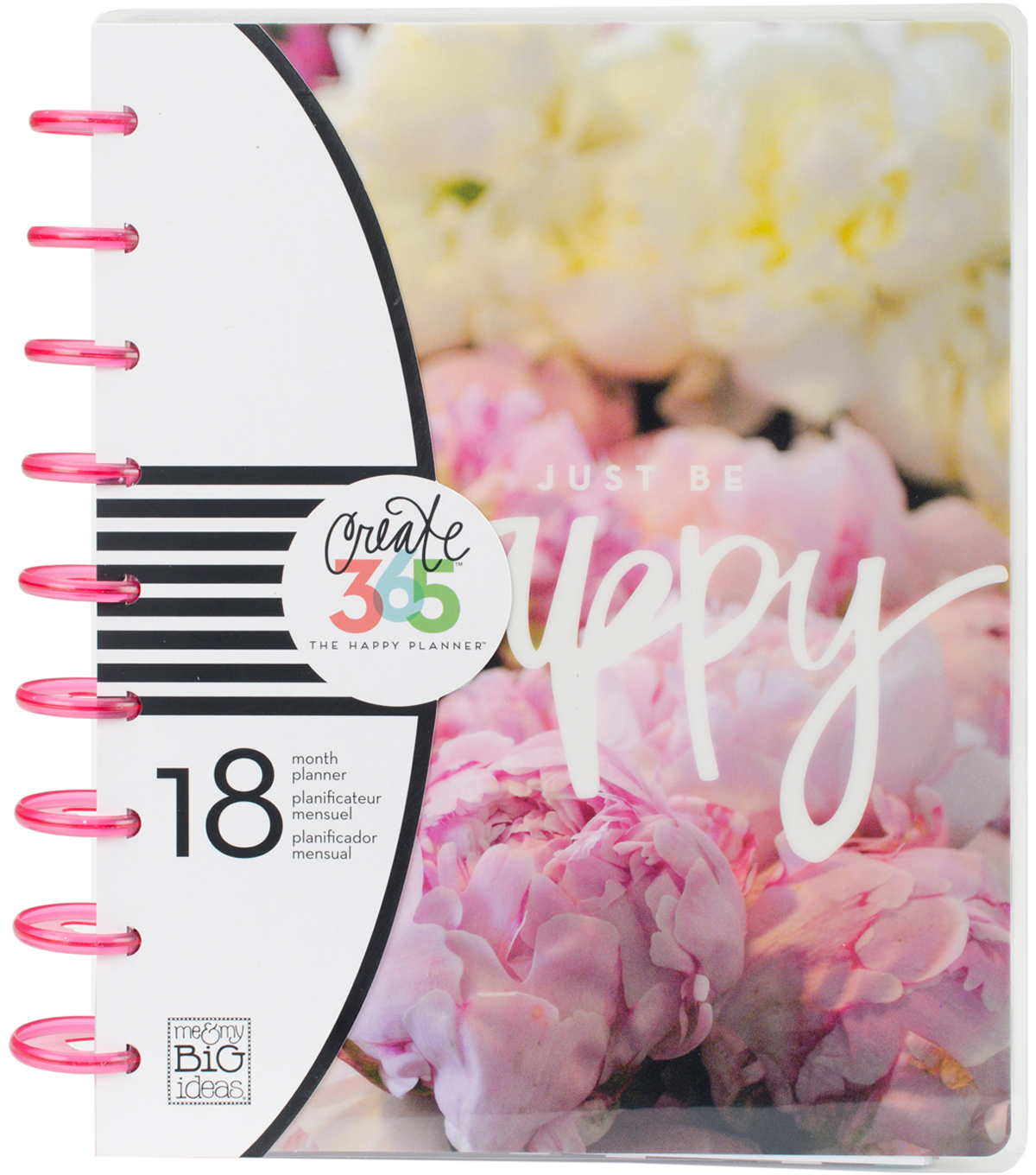 The Happy Planner 18-Month Planner-Peony Florals
