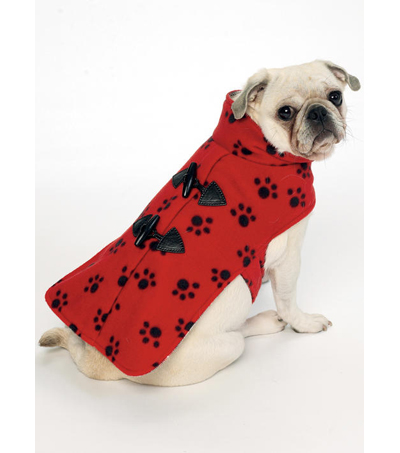 Butterick Pattern B6432 Pet Coats with Collar or Hood