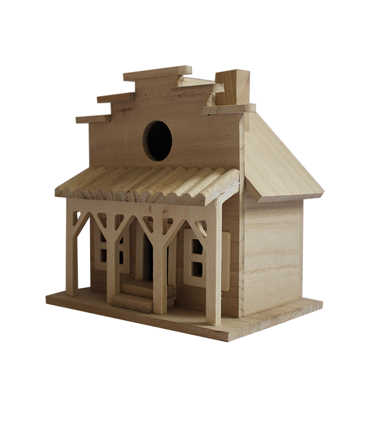 Cool Unfinished Wood Birdhouse Western Store Interior Design Ideas Tzicisoteloinfo