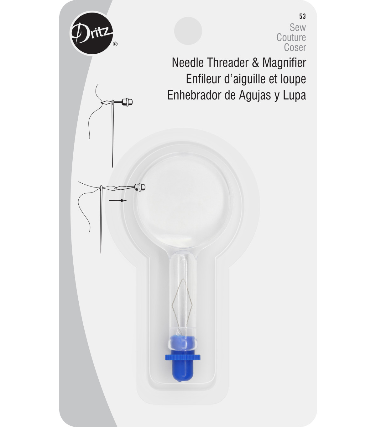 Dritz Needle Threader&Magnifier