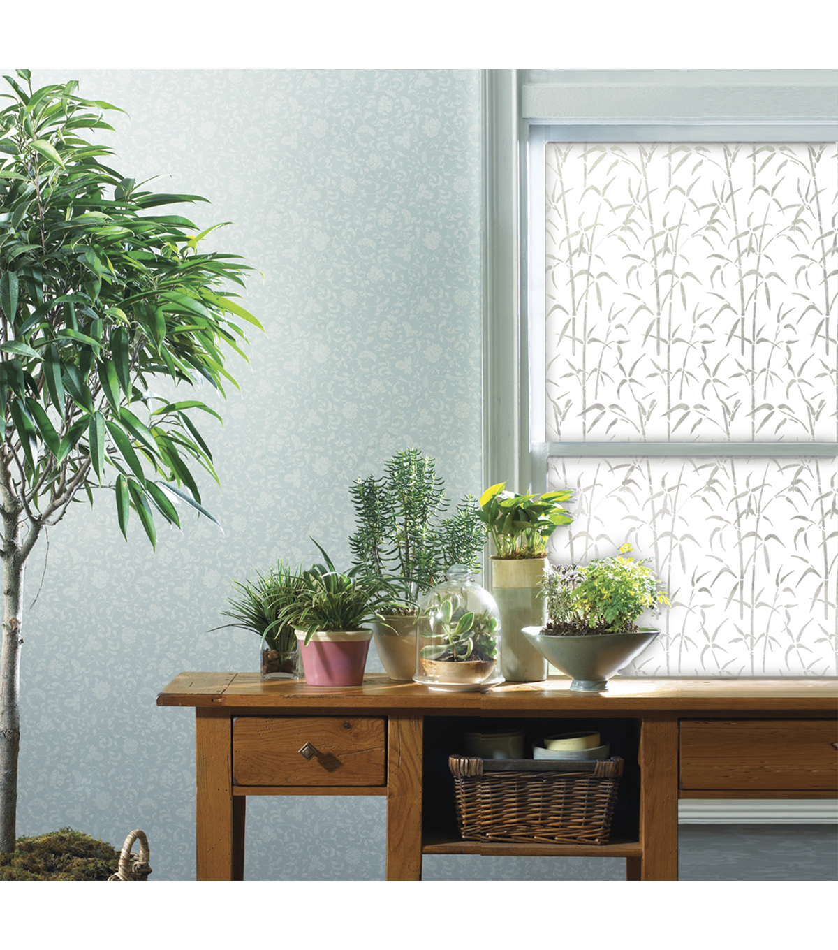 Privacy Film-Bamboo Window