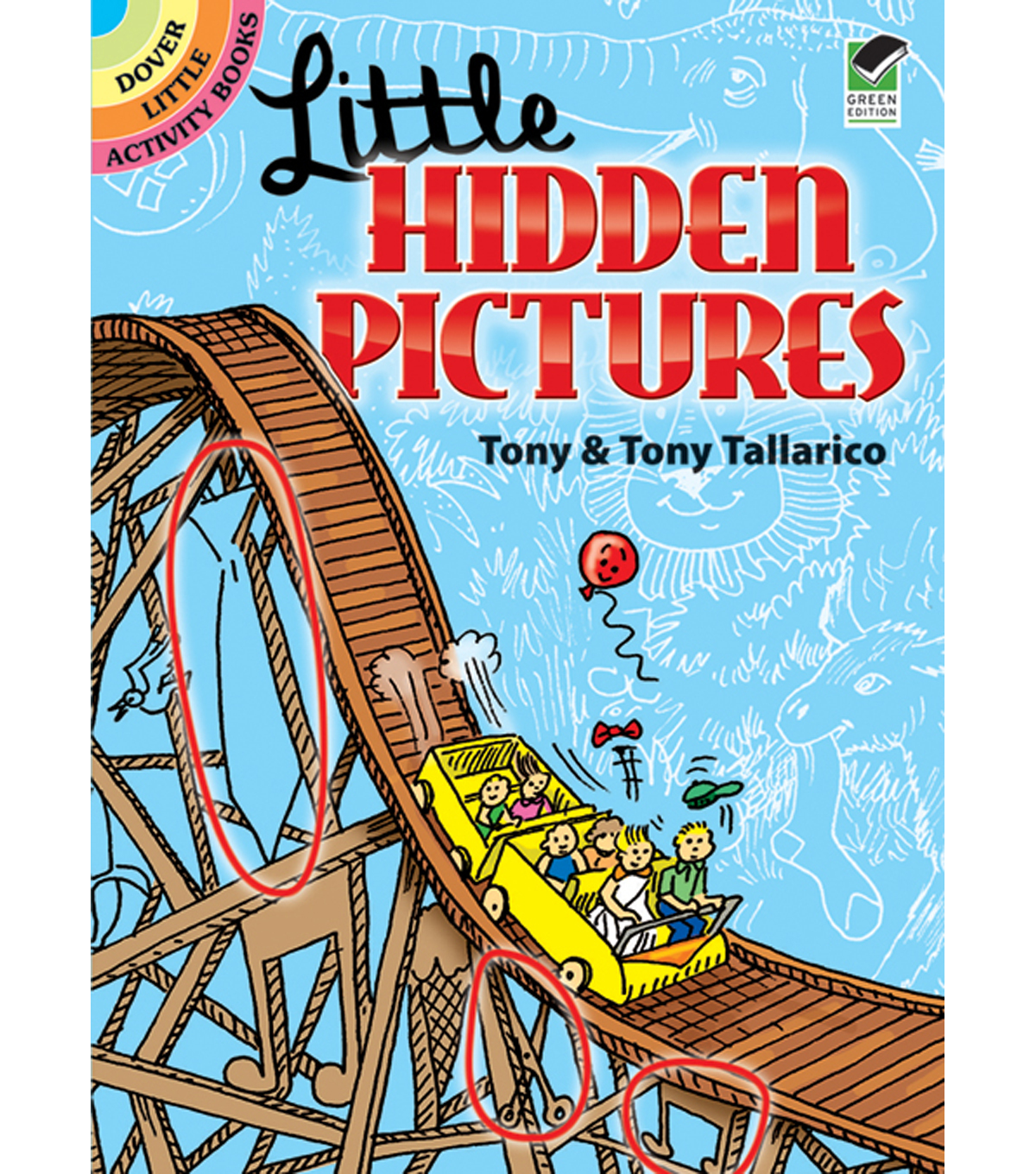Dover Publications-Little Hidden Pictures Book