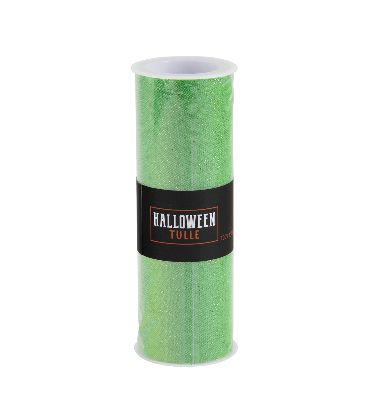 Halloween Tulle-Glow In The Dark Lime