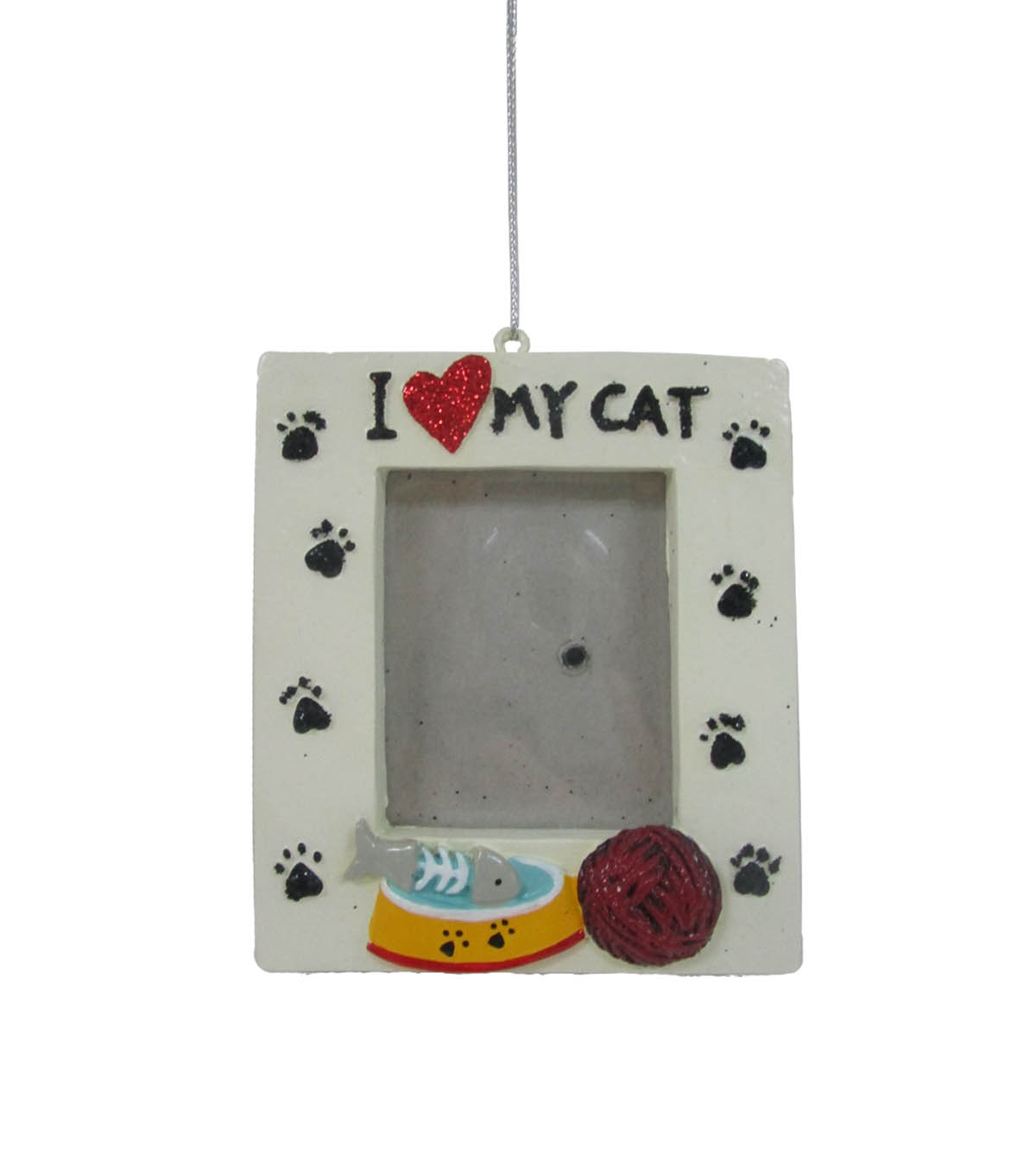 Makers Holiday Christmas Frame Ornament I Love My Cat Joann
