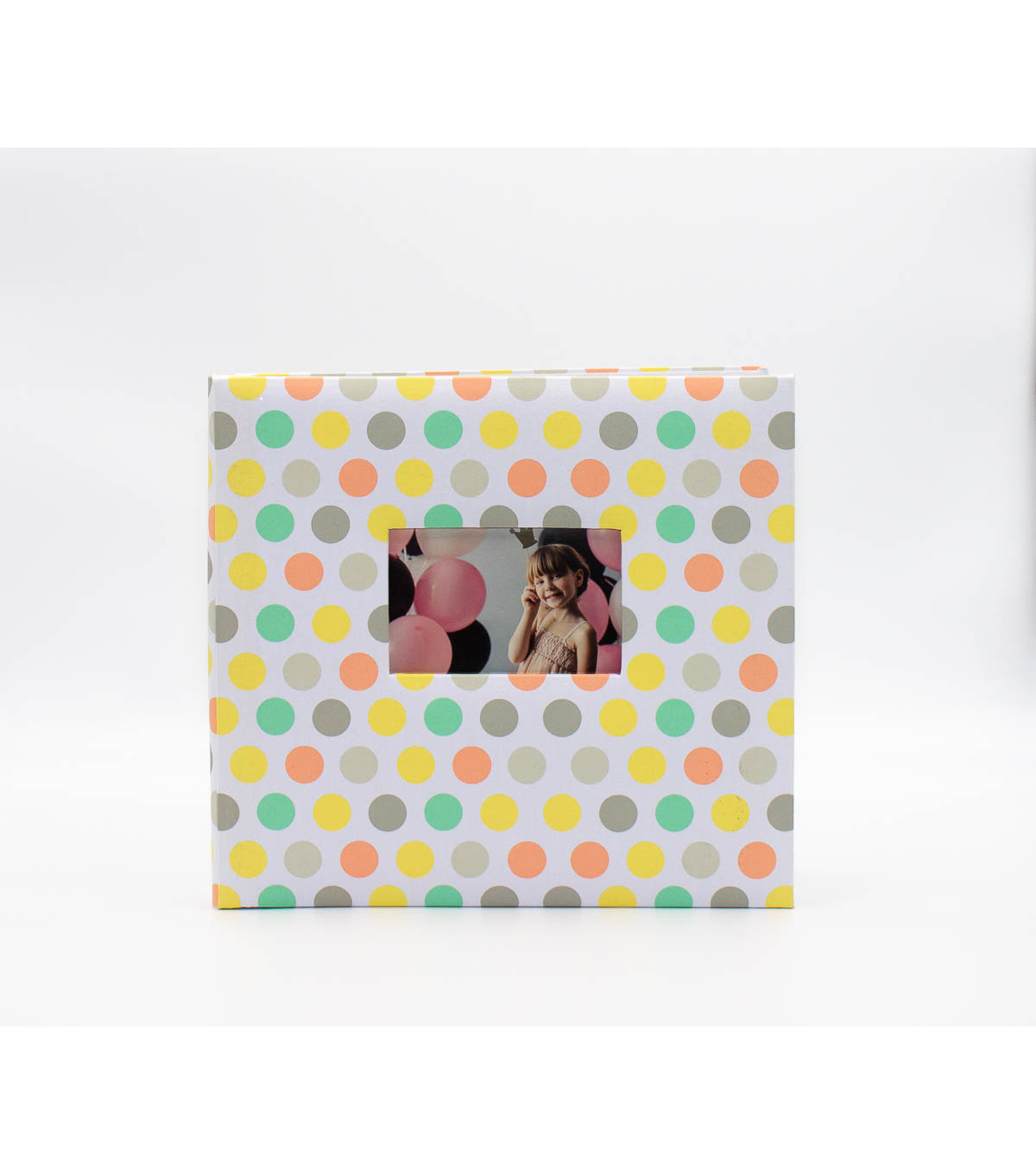Park Lane 12\u0027\u0027x12\u0027\u0027 Scrapbook Album-Polka Dots