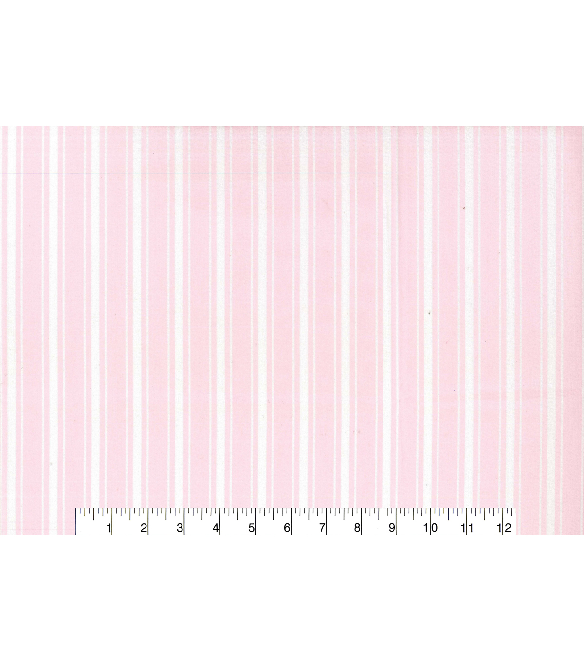 Nursery Cotton Fabric 43\u0027\u0027-Pink Stripe
