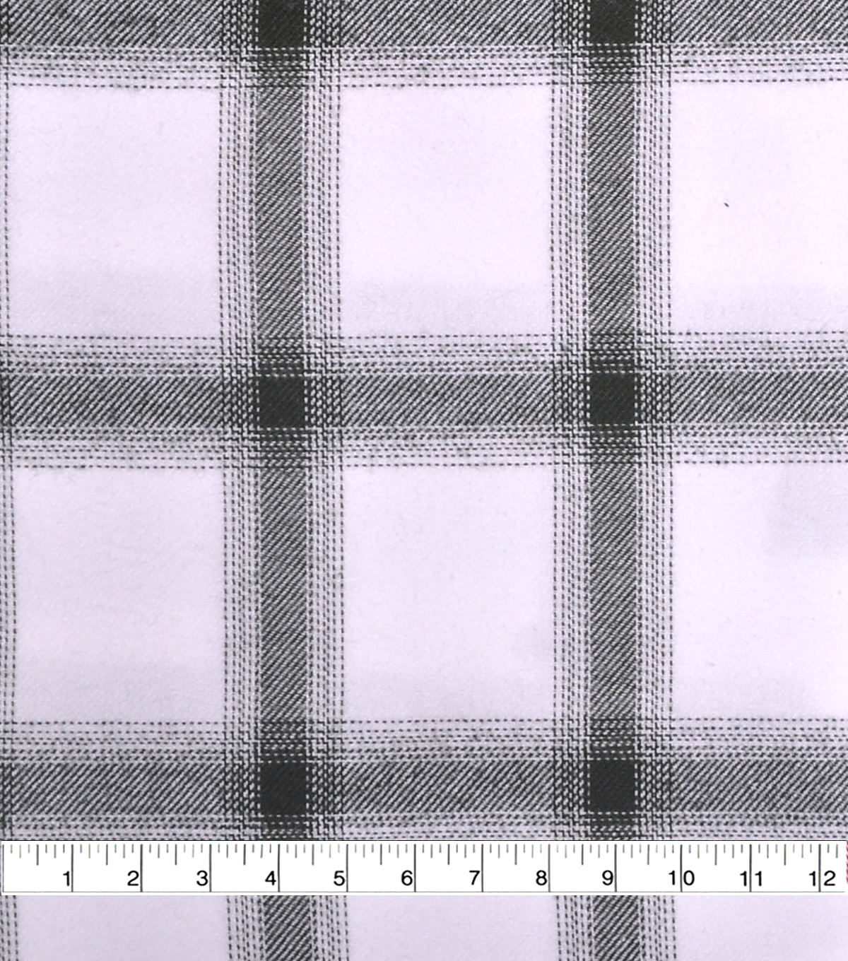 Cotton Shirting Fabric 42\u0027\u0027-Green & White Ombre Plaid