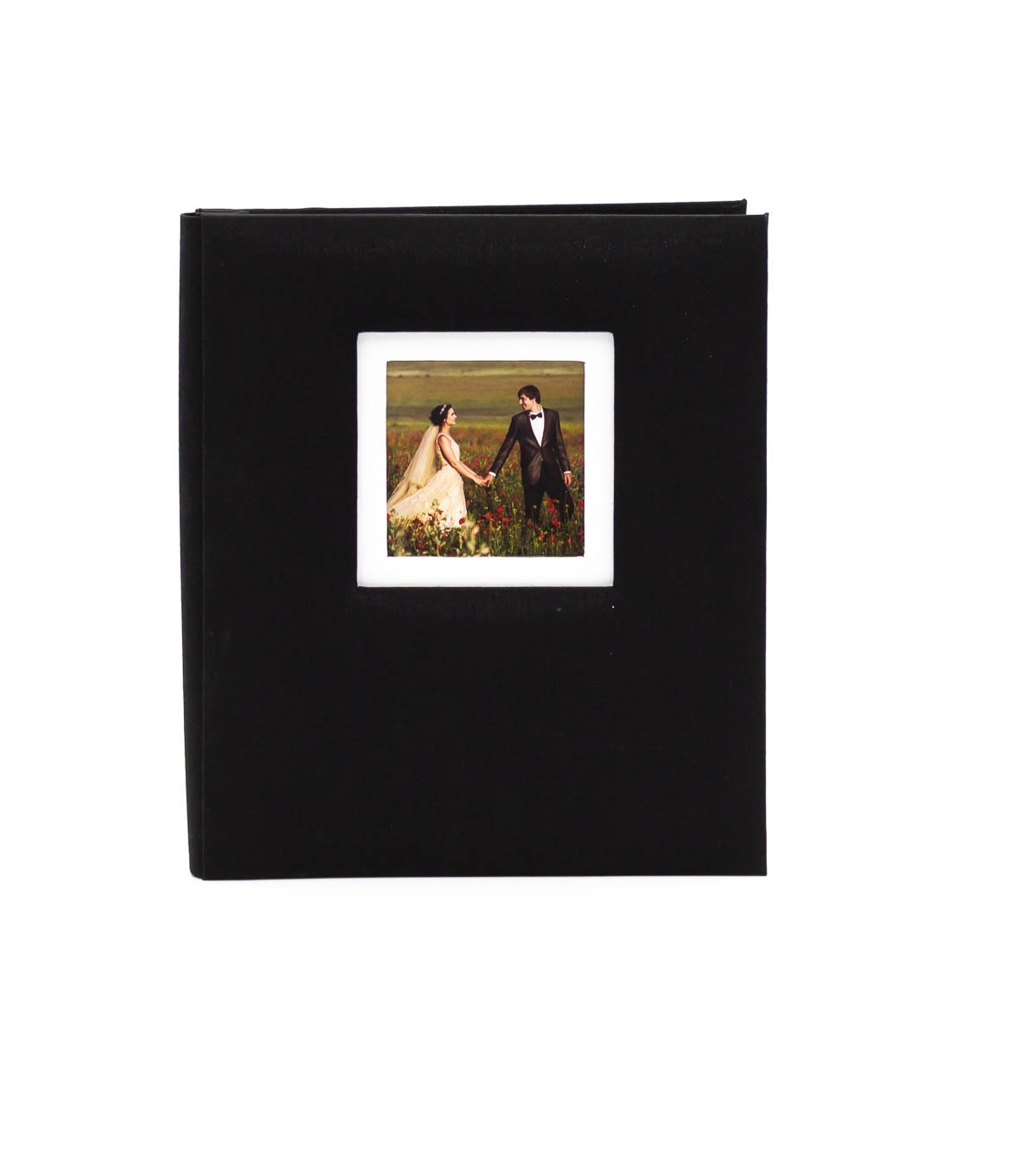 Park Lane 8.5\u0027\u0027x11\u0027\u0027 Scrapbook Album with Frame-Black