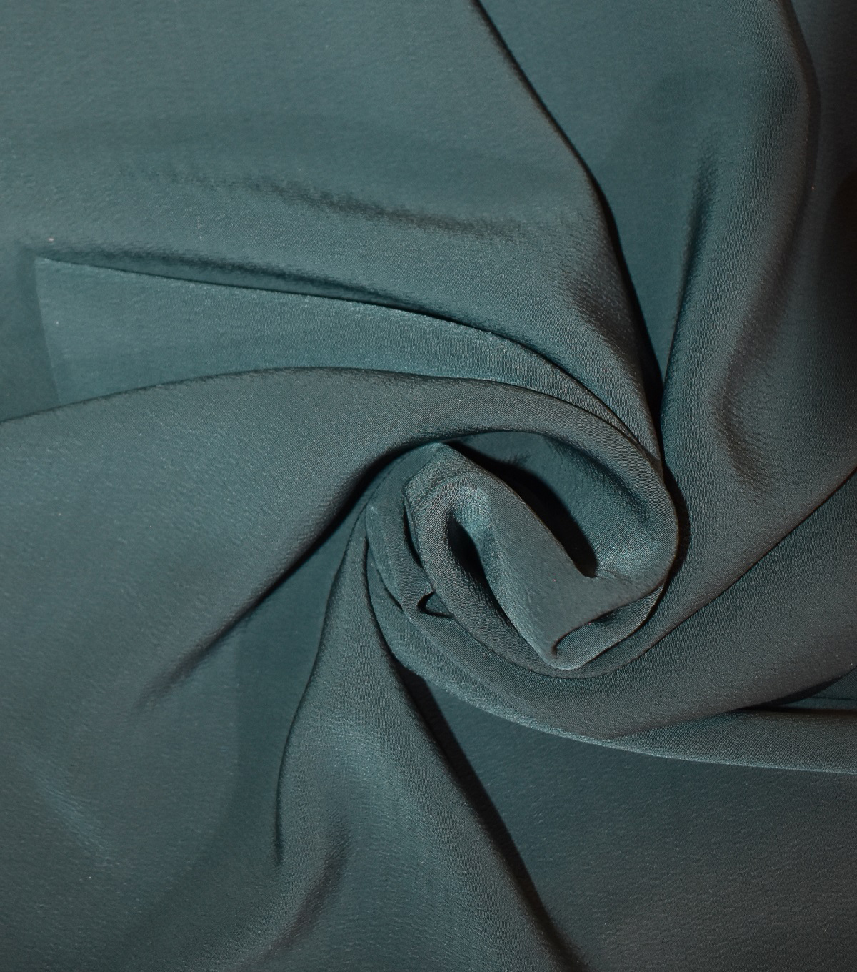 Silky Solids Textured Polyester Crepe Fabric-Solids, Sycamore