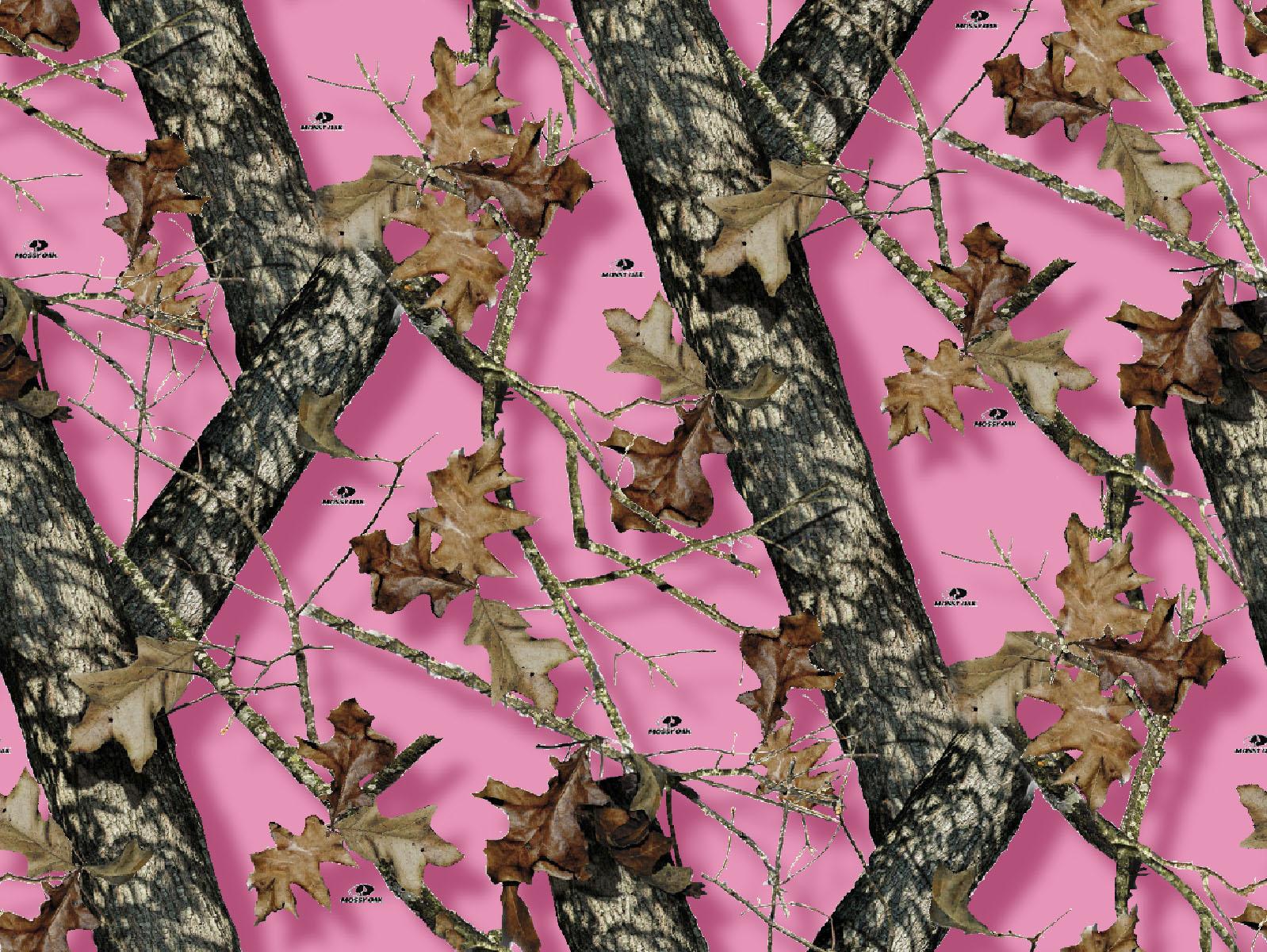 Licensed Fleece Fabric Mossy Oak Pink Joann
