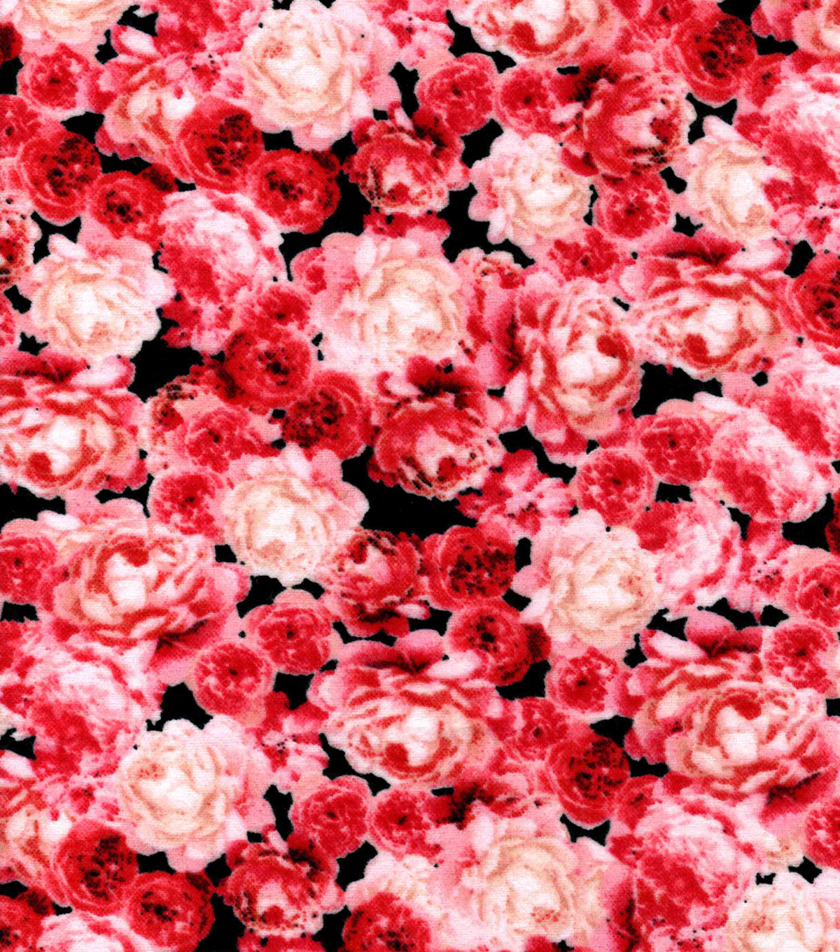 Snuggle Flannel Fabric -Beautiful Rebel Floral