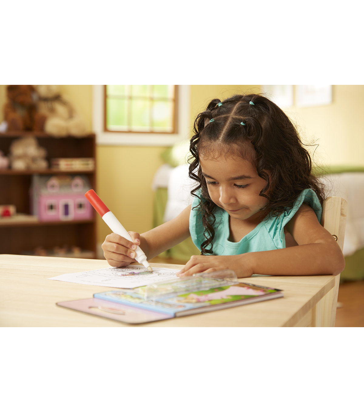 Melissa & Doug On The Go ColorBlast!-Princess