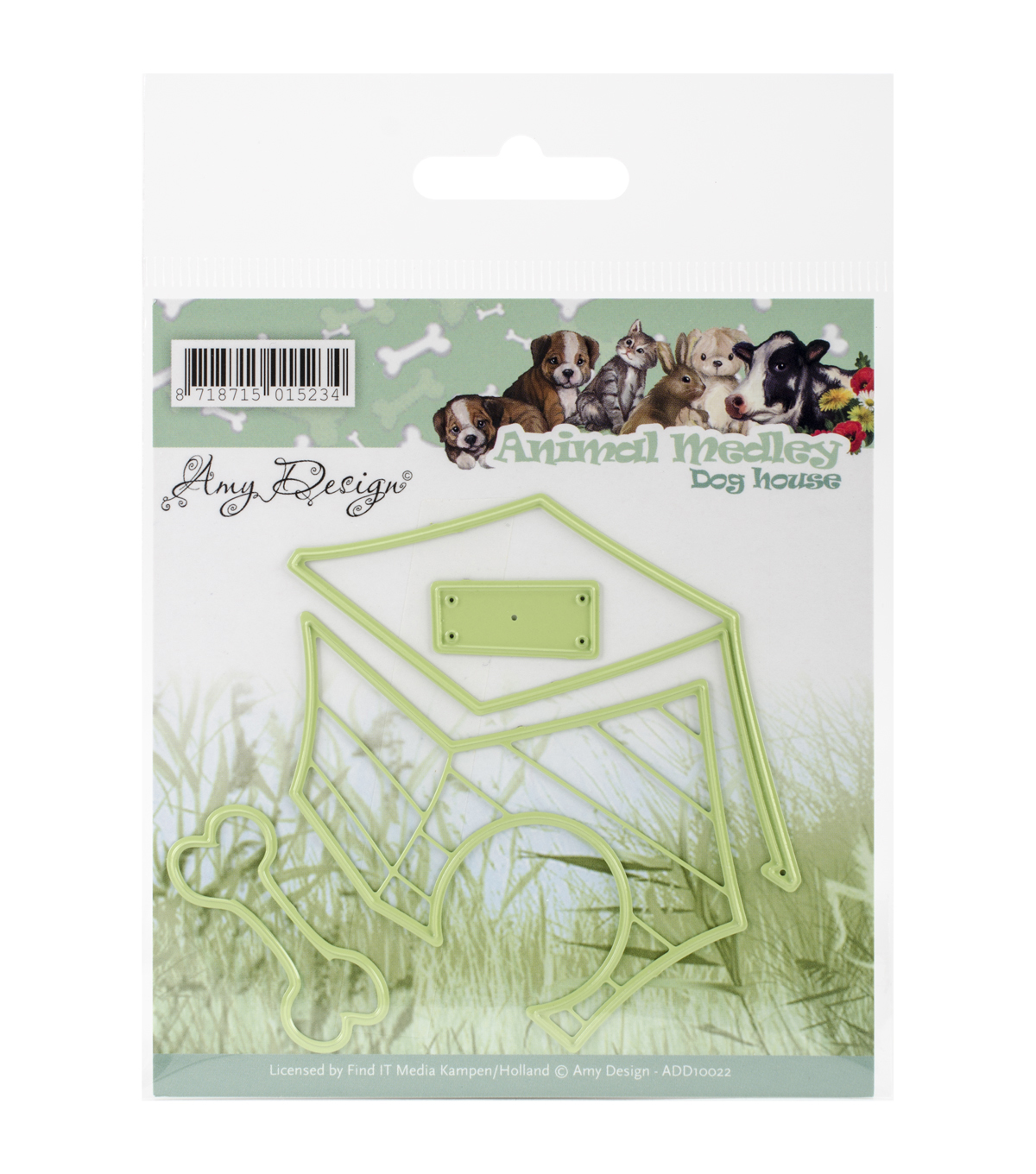 Amy Design Animal Medley Die-Dog House