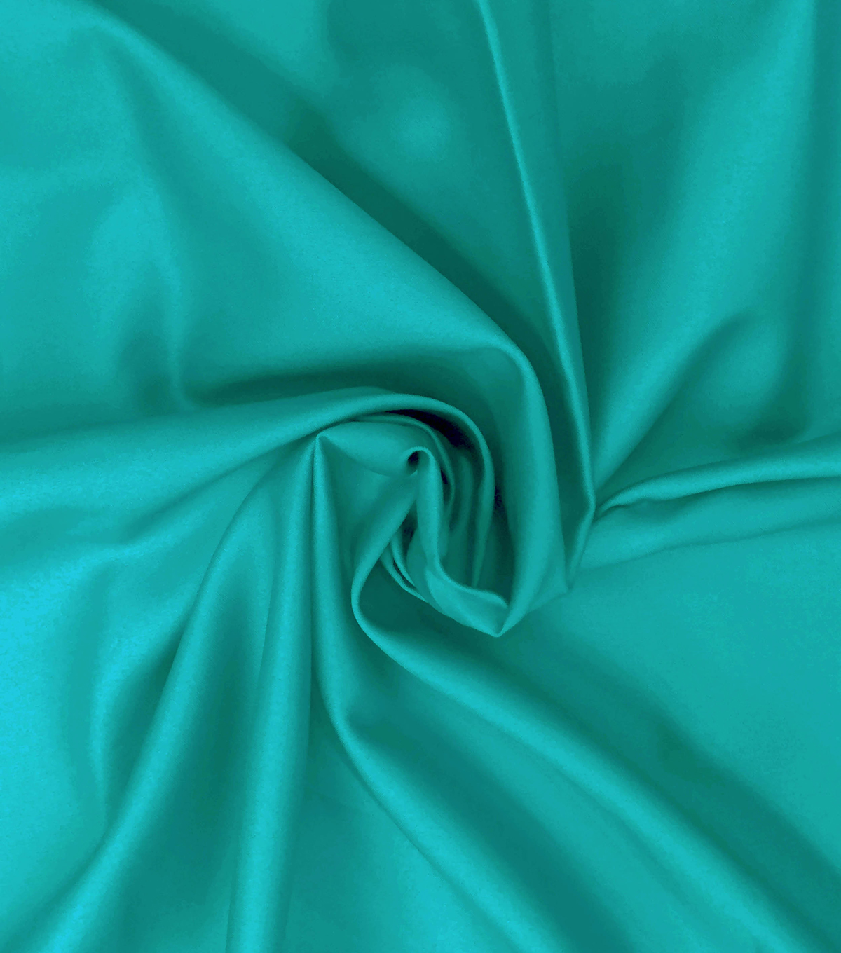 Supima Sateen Cotton Fabric-Solids, Turquoise