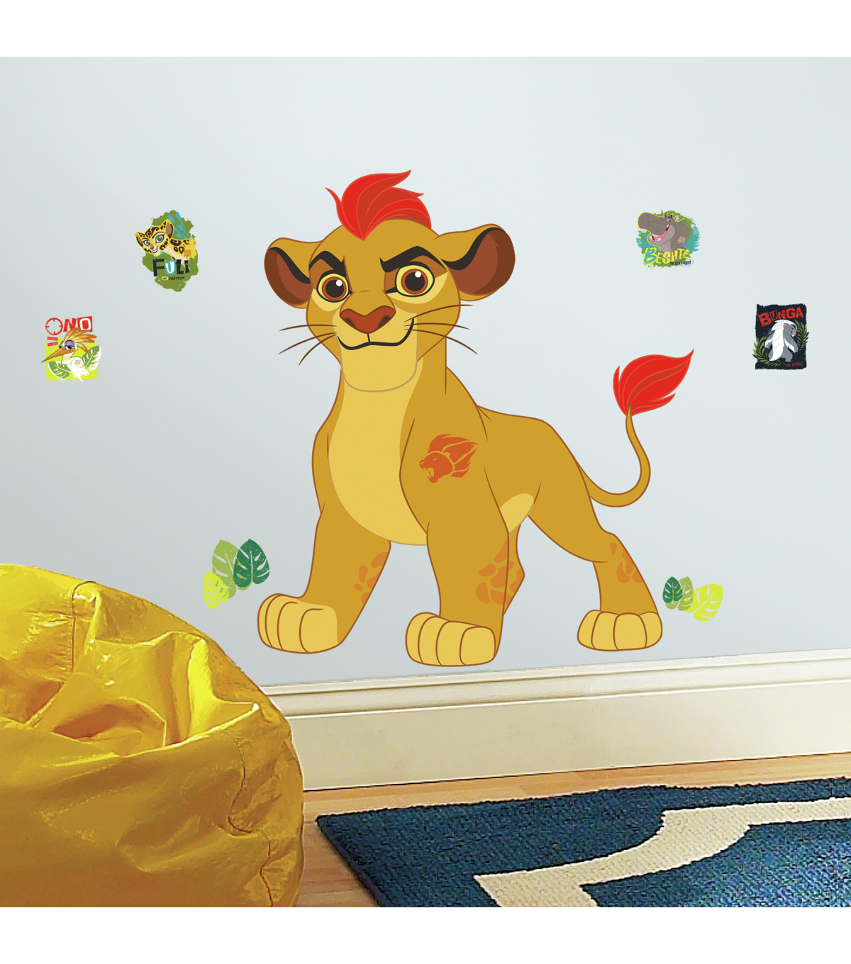 York Wallcoverings Wall Decals-Lion Guard Kion