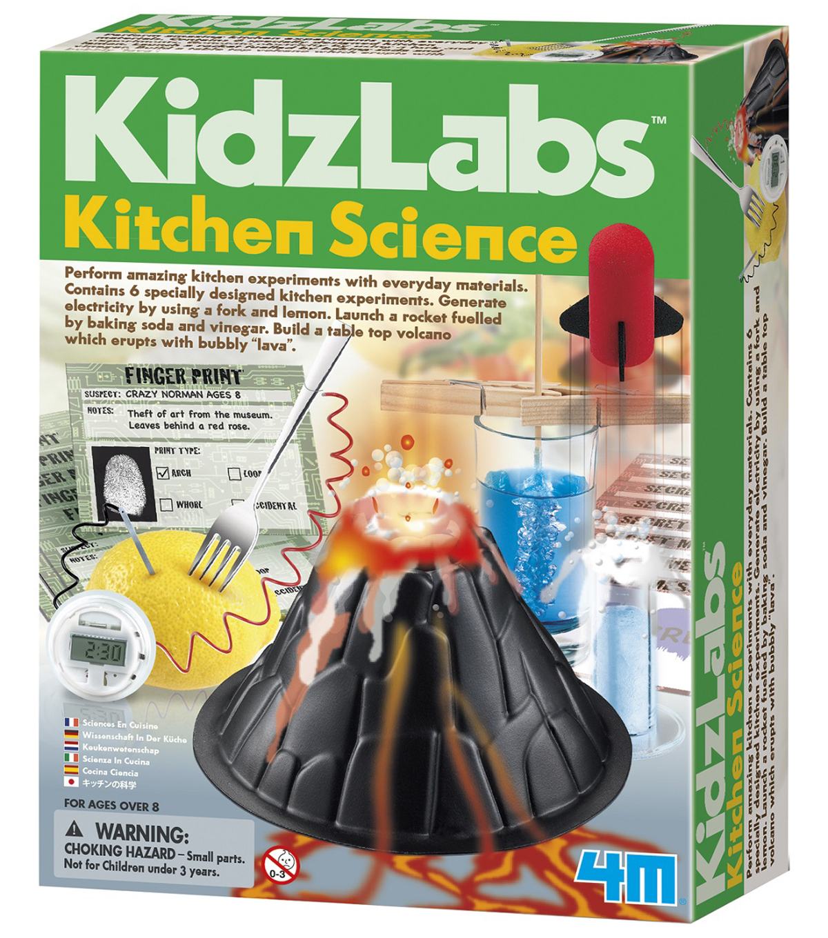 KidzLabs Kitchen Science Kit