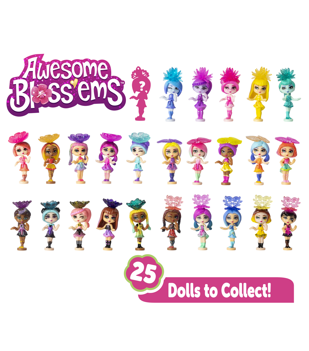 Awesome Blossoms Collectible Dolls