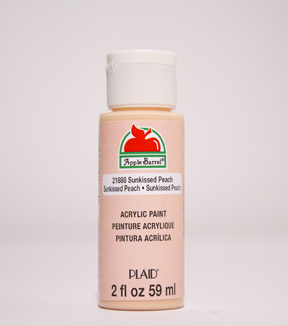 Apple Barrel 2 fl. oz. Acrylic Paint, Sunkissed Peach