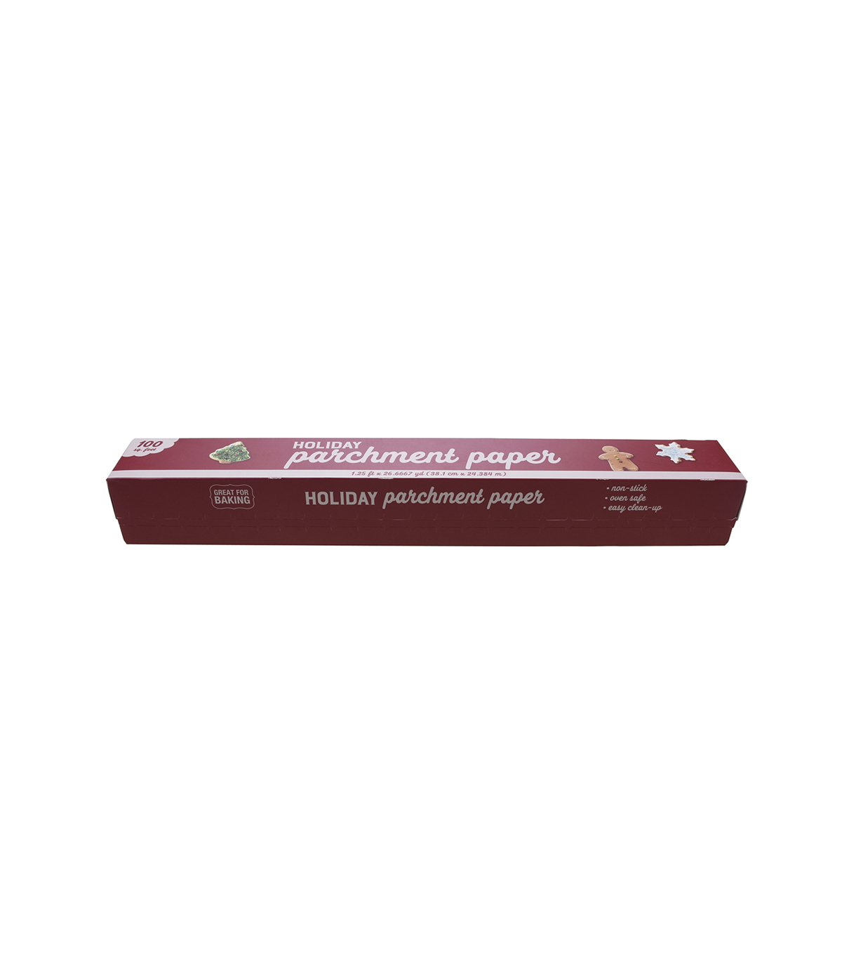 Christmas Holiday 1 25 U0027 Parchment Paper Roll White