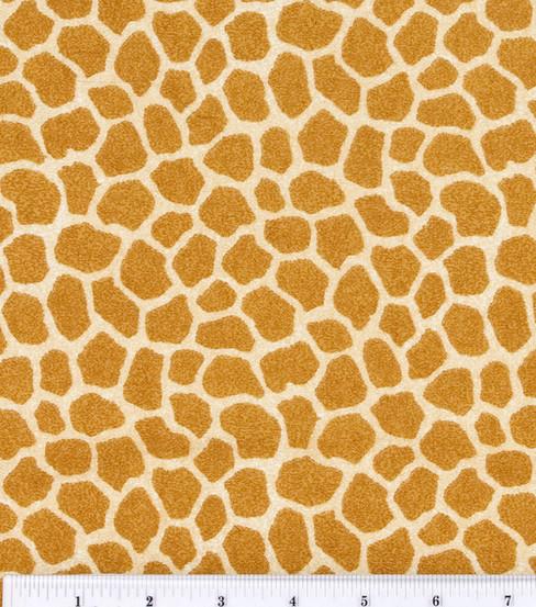 Jungle Babies Nursery Flannel Fabric Giraffe Skin