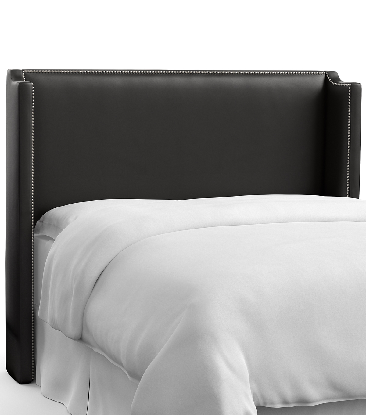Skyline Furniture Nail Button Wingback Headboard-California King