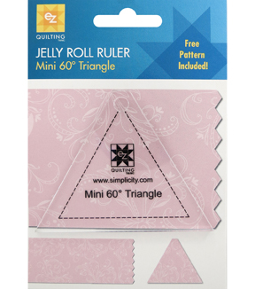 Ez Quilting Jelly Roll Rulers-60° Triangle