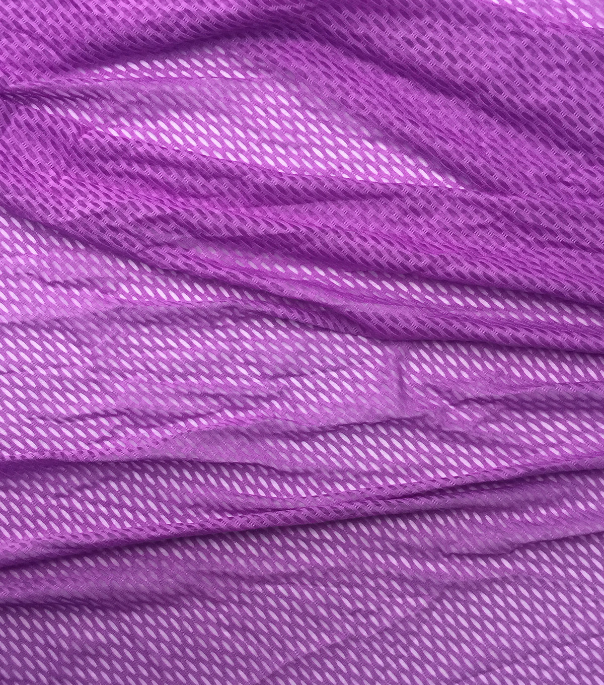 Loungeletics Performance Sport Mesh Knit Fabric-Pink
