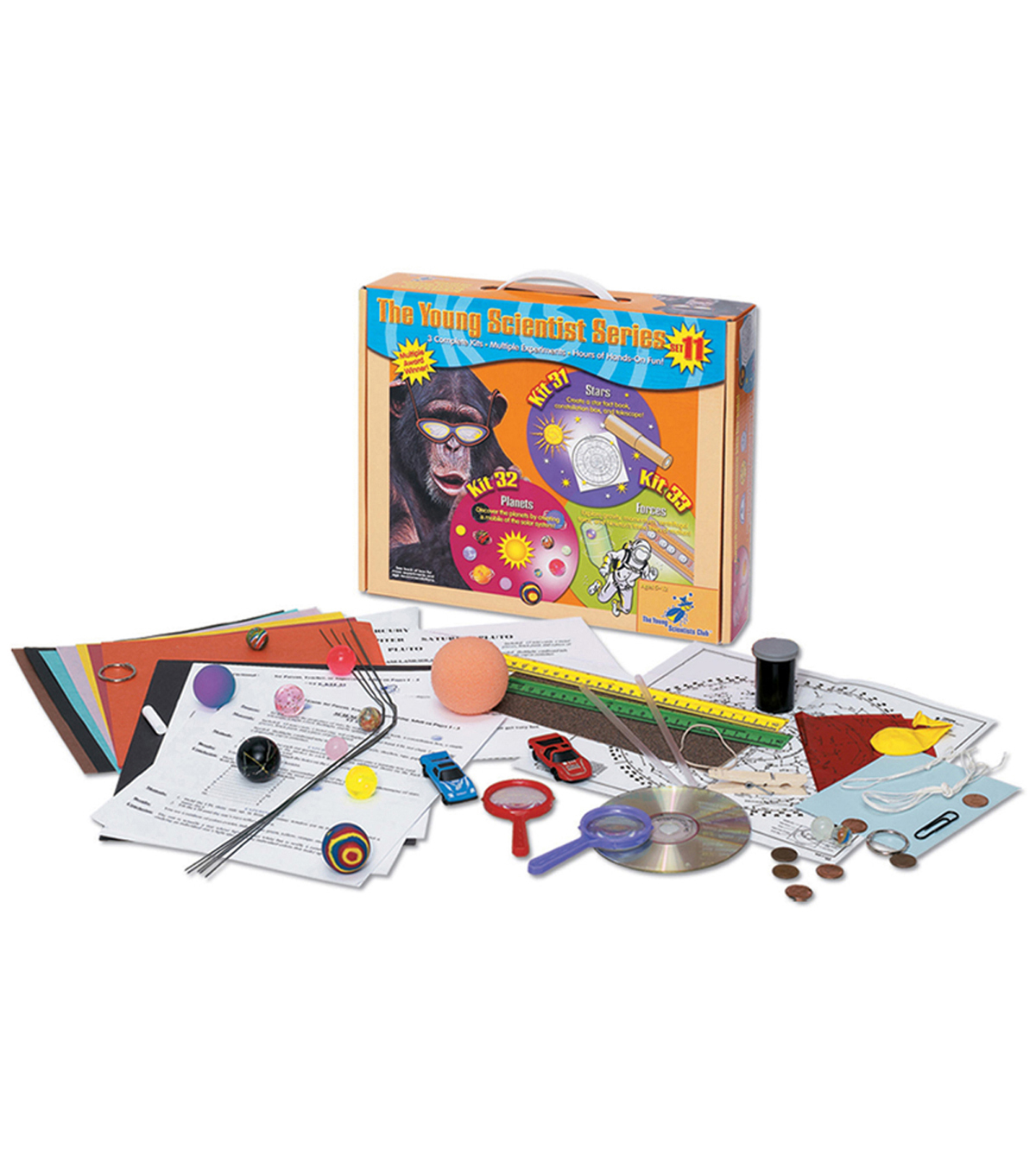 The Young Scientist Kit-Stars, Planets, Forces