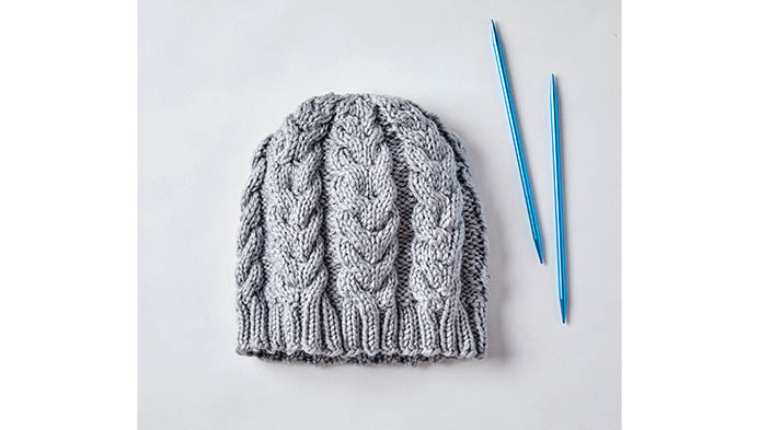 Knit With Heat Wave Yarn