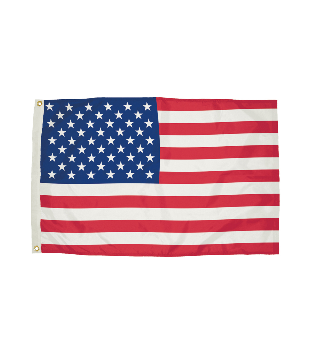 FlagZone Durawavez 3\u0027x5\u0027 Nylon Outdoor U.S. Flag with Grommets
